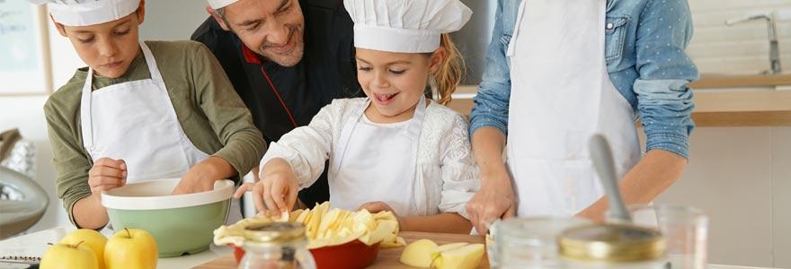 atelier de cuisine pour enfant